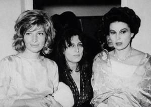 Monica Vitti, Anna Magnani e Silvana Mangano. (La foto è stata postata su Facebook il 7 giugno 2014 da Olga Bertaina)