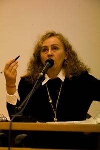Paola Ciccioli alla Casa internazionale delle donne di Roma