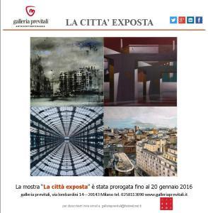 La città exposta2015