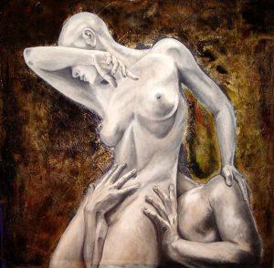 """""""Afrodite"""" della pittrice marchigiana Ombretta Buongarzoni"""