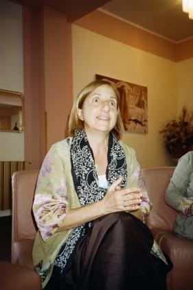 La sindaca Maria Carmela Lanzetta (foto di Paola Ciccioli)
