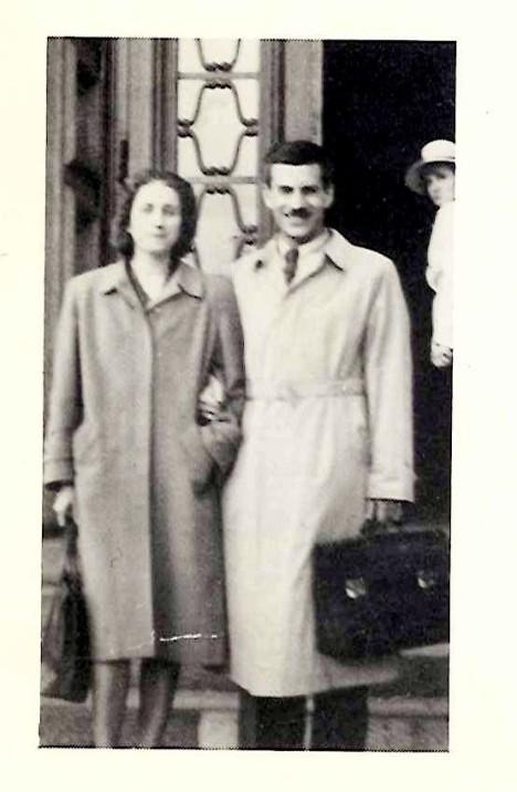 Elio Vittorini con Ginetta Varisco