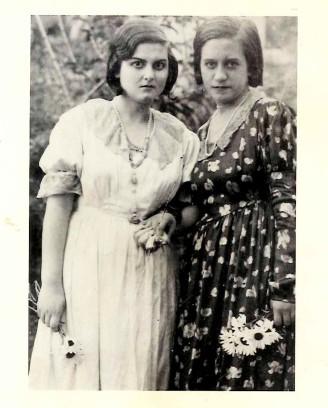 Iole Vittorini, a destra, con Laura Lombardo