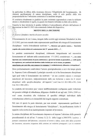 CICCIOLI - ARNOLDO MONDADORI - TRIB MILANO - SENT 20-13 DEL 18pag2