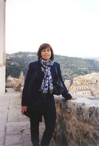 Maria Elena Sini a Ragusa Ibla, aprile 2013 (foto di Paola Ciccioli)