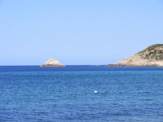 Scogli e mare della Corsica