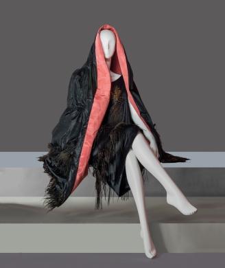 Un abito di Maria Cumani esposto a Firenze