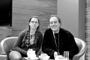 Daniela Natale con Ico Gasparri
