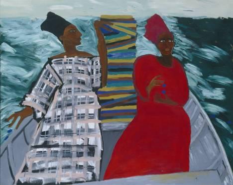 "Lubaina Himid, ""Between the Two my Heart is Balanced"", 1991"