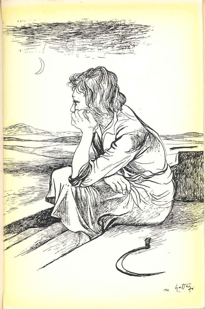 Illustrazione Guttuso