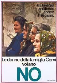 donne famiglia Cervi votano NO