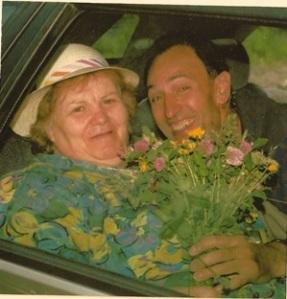 Maria Macaluso con il marito Domenico