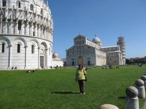 Adele a Pisa nel marzo scorso