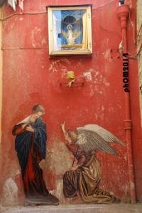 """Zilda, """"Annunciazione"""", Napoli 2014"""
