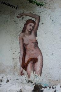 """Zilda. """"Eva"""" (particolare), Napoli 2014"""