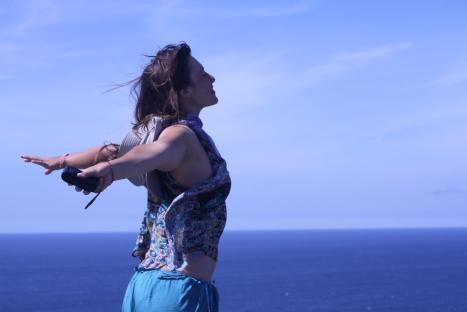 Cecilia, l'oceano!
