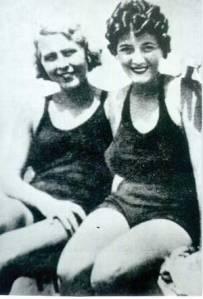 Claretta e Miriam Petacci