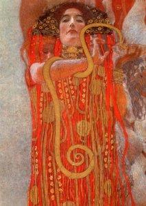 "Gustav Klimt, ""Igea"" (1900)"