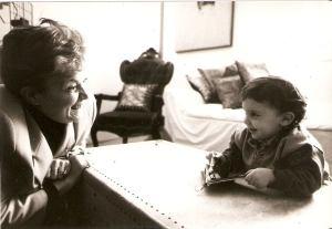 Mariagrazia, qualche anno fa, con l'amatissima nipote Silvia