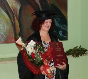 Rosalba Griesi il 25 marzo 2014, giorno in cui si è laureata in Lettere Moderne all'università degli studi della Basilicata