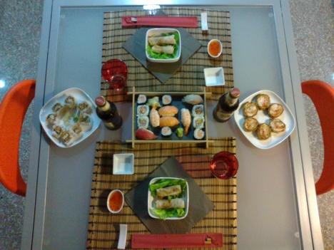 Cena giapponese da Elisabetta