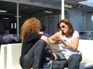 Ventotene, Silvia