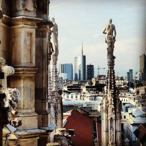 La nuova Milano in una foto di Stefano Baraldi