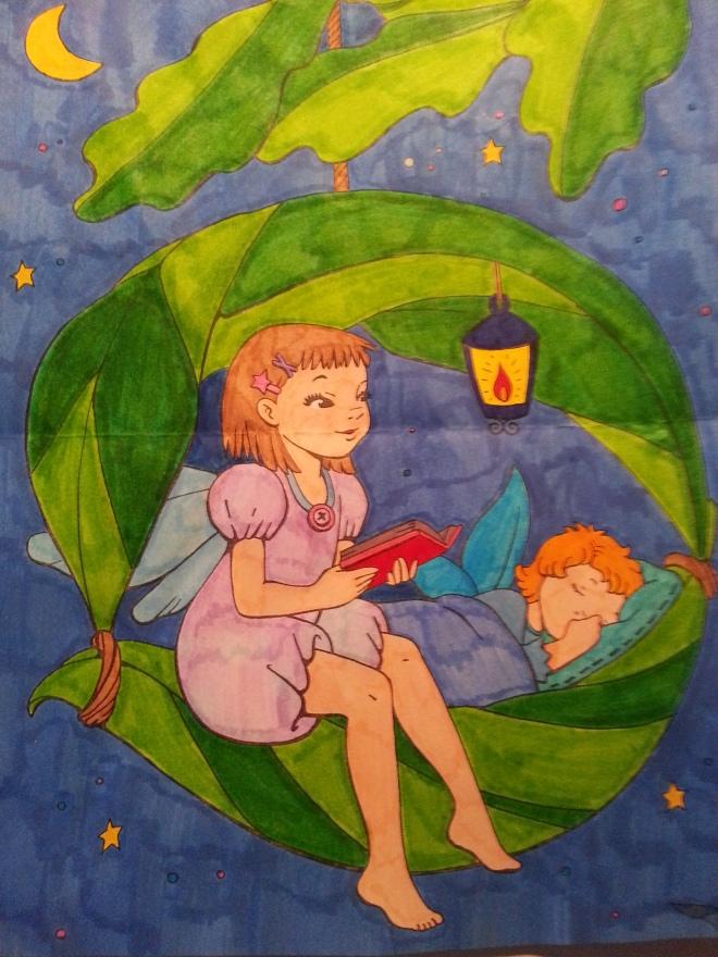 Maria Elena, disegno