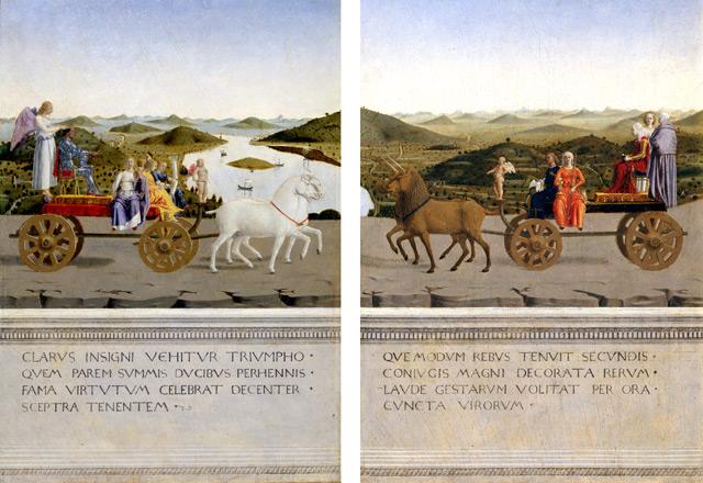 I duchi di Urbino (retro)