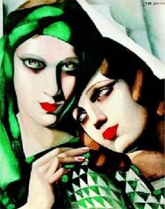 """Le turban vert"", Tamara de Lempicka (1929)"