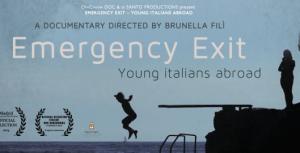 "La locandina del film ""Emergency Exit"""