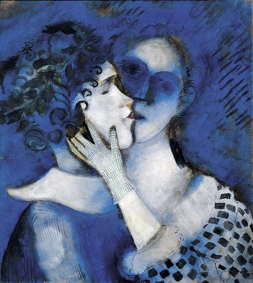 marc-chagall-gli-amanti-in-blu-1914