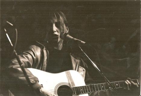 Francesca e la sua chitarra on stage