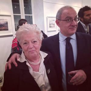 Mariagrazia con Francesco