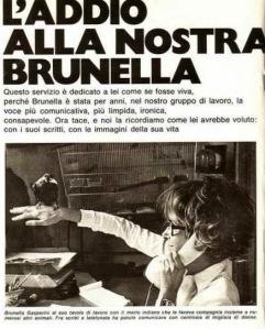 La prima pagina del servizio di Annabella del 25 gennaio 1979