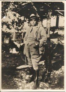 """L'ingegner Giuseppe Marconi, """"nonno Beppe"""" (dall'archivio privato di Mariagrazia Sinibaldi)"""