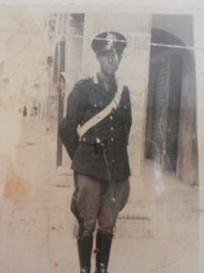 Elisabetta, ettore baccarin militare a Udine