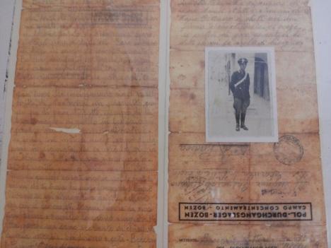Elisabetta, la lettera dal campo di concentramento di bolzano