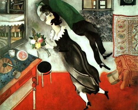 "Marc Chagall, ""Il compleanno"" (1915)"