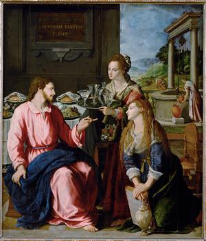 Cristo in casa di Marta