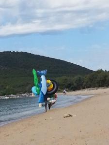 Maria Elena, spiaggia