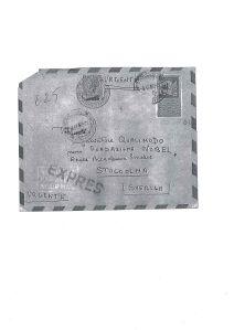 busta lettera di Alessandro
