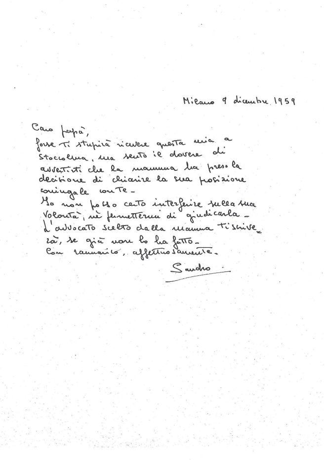 lettera di Alessandro