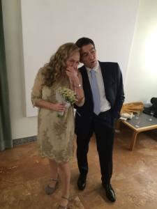 Complicità. San Donato Milanese, 30 gennaio 2016: Luca Bartolommei e Paola Ciccioli sposi (foto di Paola Massaccesi)