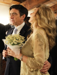Luca Bartolommei e Paola Ciccioli sposi (foto di Giuliana Bellini)