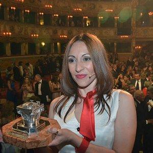 Teatro La Fenice di Venezia, 10 settembre 2016: Simona Vinci ha vinto il Premio Campiello
